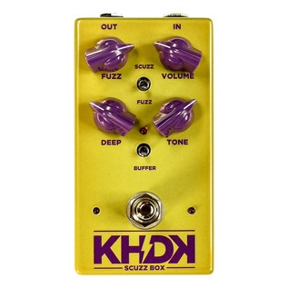 KHDK Scuzz Box Fuzz Pedal