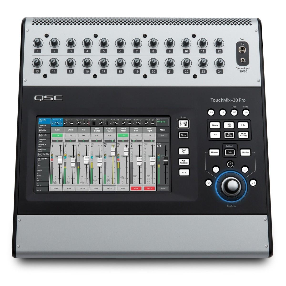 table de mixage qsc