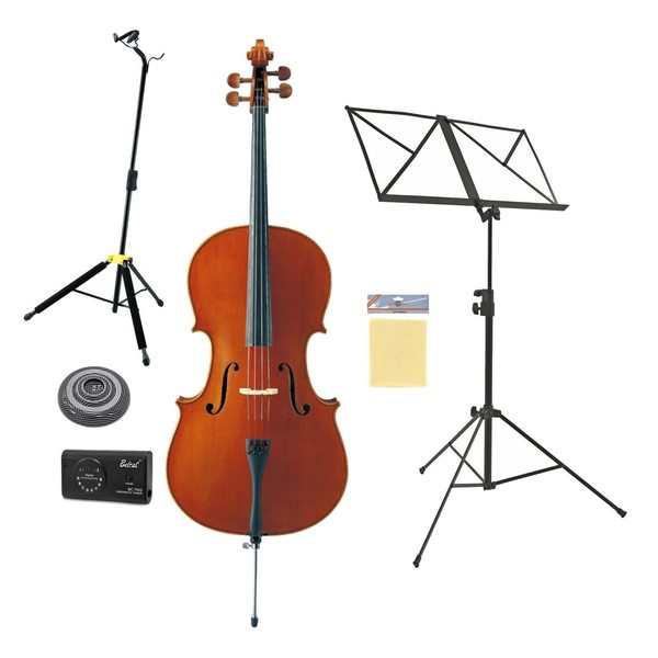 Yamaha VC5S Student Cello 4/4 Size Beginners Pack