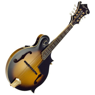 Ozark 2255E Electric 'F' Model Mandolin, with Gig Bag