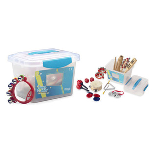 Stagg Children's Percussion Kit, with storage box