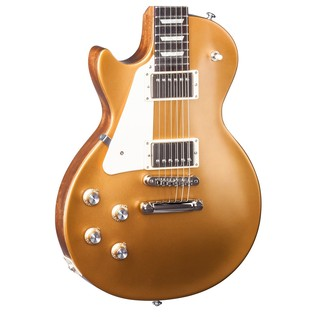 Gibson Les Paul Tribute T Left Handed Guitar, Satin Gold Top