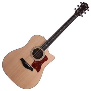 Taylor 410ce Electro Acoustic Guitar, Natural