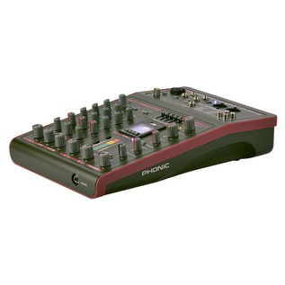 Phonic CELEUS 100 Analog Mixer with USB Recorder and Bluetooth