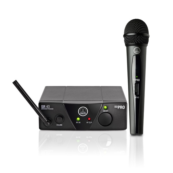 AKG WMS40 Mini Wireless Vocal Microphone Set ISM2
