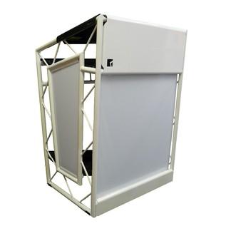 LiteConsole GO! Portable Aluminium Booth, White
