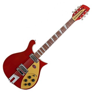 Rickenbacker 660 12 String Electric Guitar, Ruby Red