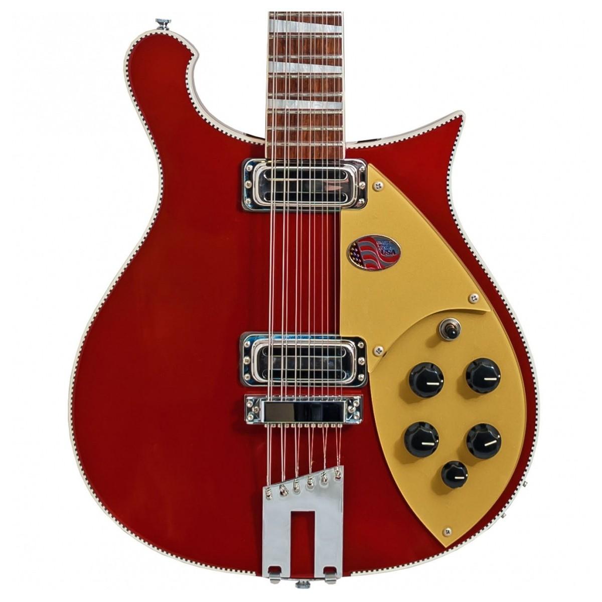 DISC Rickenbacker 660 12 String Electric Guitar, Ruby Red en ...