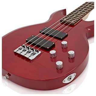 New Jersey Bass Guitar + 35W Amp Pack, Trans Red