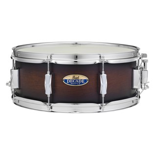 Pearl Decade Maple 14 x 5.5 Snare Drum, Satin Brownburst