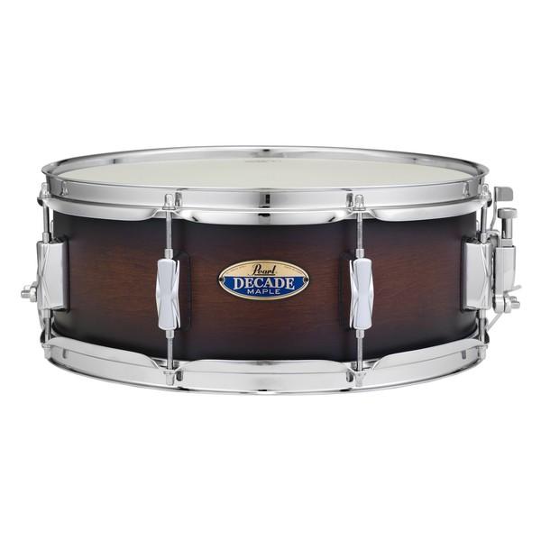 Pearl Decade Maple 14 x 5.5 Snare Drum, Satin Brownburst