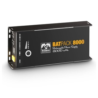 Palmer MI BATPACK 8000 Rechargeable Pedalboard Power Supply, 8000mAh