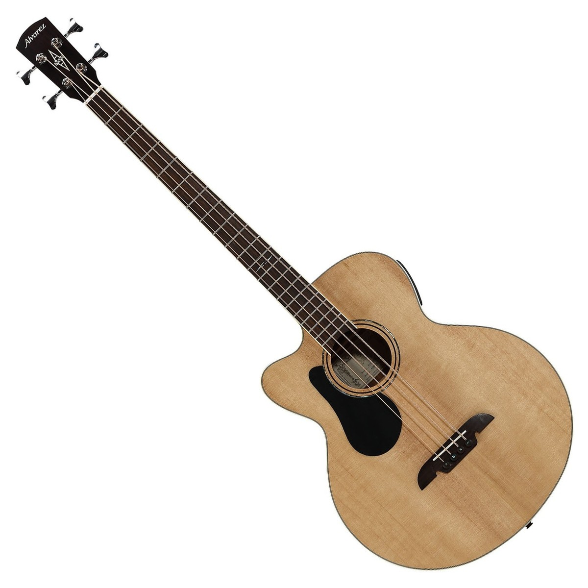 disc alvarez ab60lce left handed electro acoustic bass guitar at gear4music. Black Bedroom Furniture Sets. Home Design Ideas