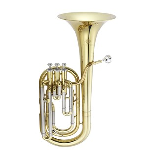 Jupiter JBR-730 Baritone Horn, Clear Lacquer