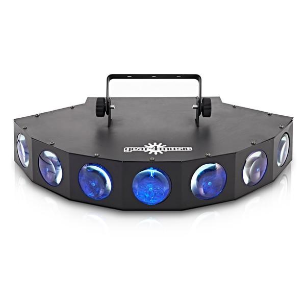 238 x 5mm Multi Spot LED Light by Gear4music