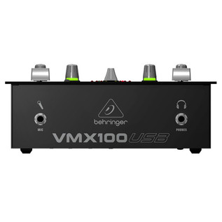 Behringer Pro VMX100USB Professional 2-Channel DJ Mixer - front