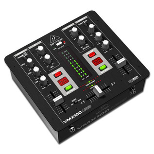 Behringer Pro VMX100USB Professional 2-Channel DJ Mixer - Main
