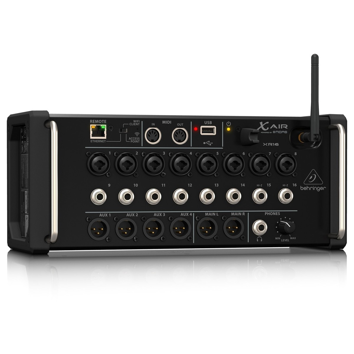 behringer x air xr16 16 channel digital mixer b stock at gear4music. Black Bedroom Furniture Sets. Home Design Ideas