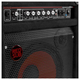 San Francisco Semi Acoustic Bass + RedSub BP80 Amp Pack, Black