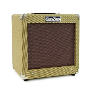 San Francisco Semi Acoustic Bass + SubZero V35B Amp Pack, Black