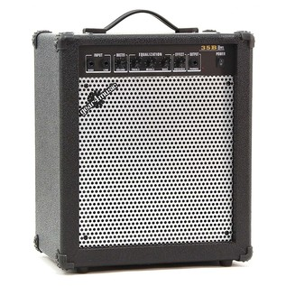 Harlem Bass Guitar + 35W Amp Pack, Black