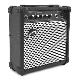 Lexington Bass Guitar + 15W Amp Pack, Black