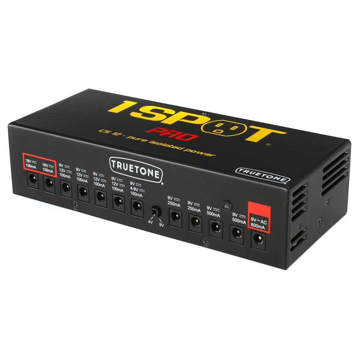truetone 1 spot pro cs12 guitar pedal multi power supply at gear4music. Black Bedroom Furniture Sets. Home Design Ideas