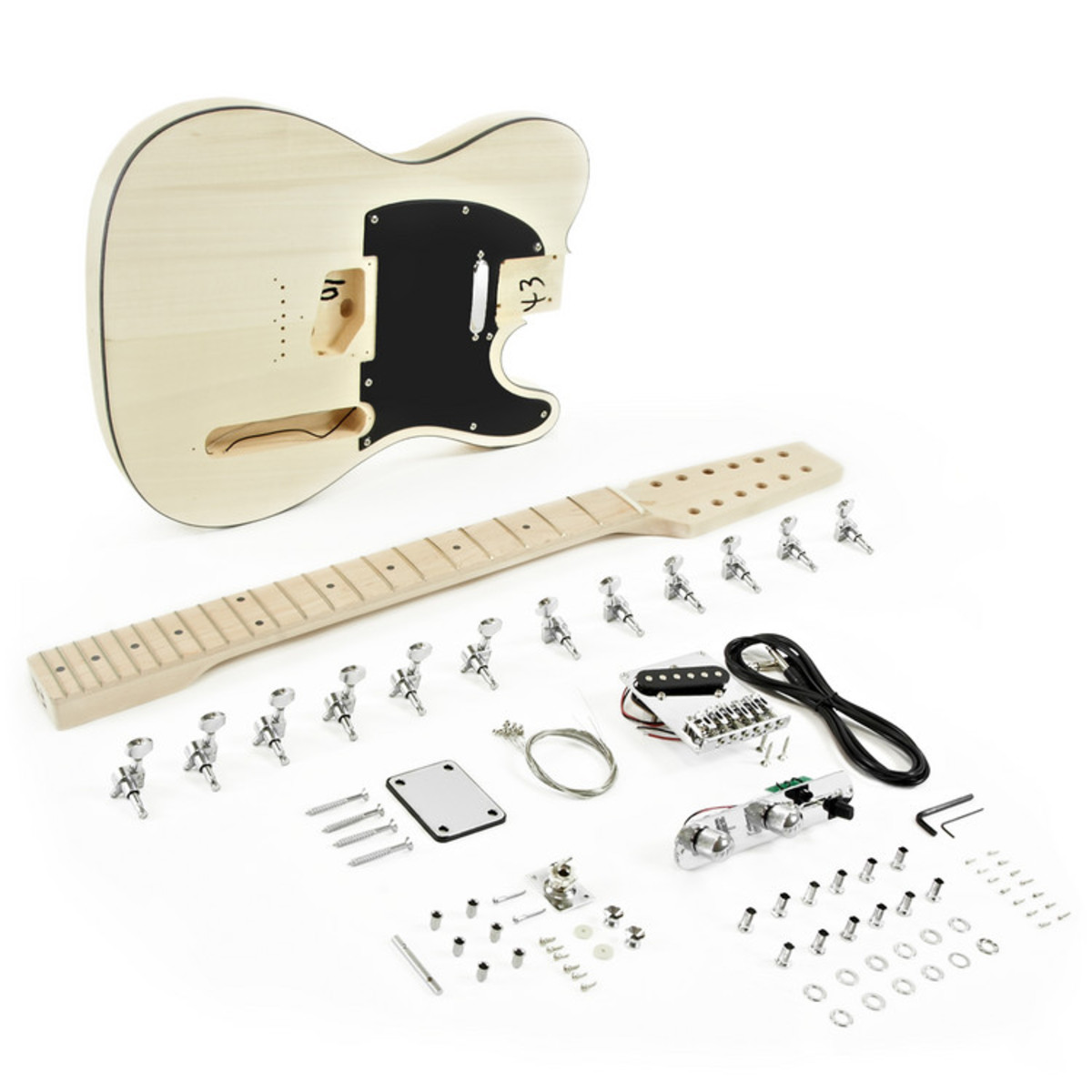 12 string knoxville electric guitar diy kit b stock at gear4music. Black Bedroom Furniture Sets. Home Design Ideas