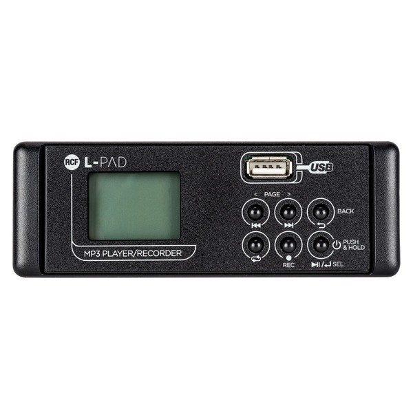 RCF Audio LPAD MKII MP3 Player and Recorder Card