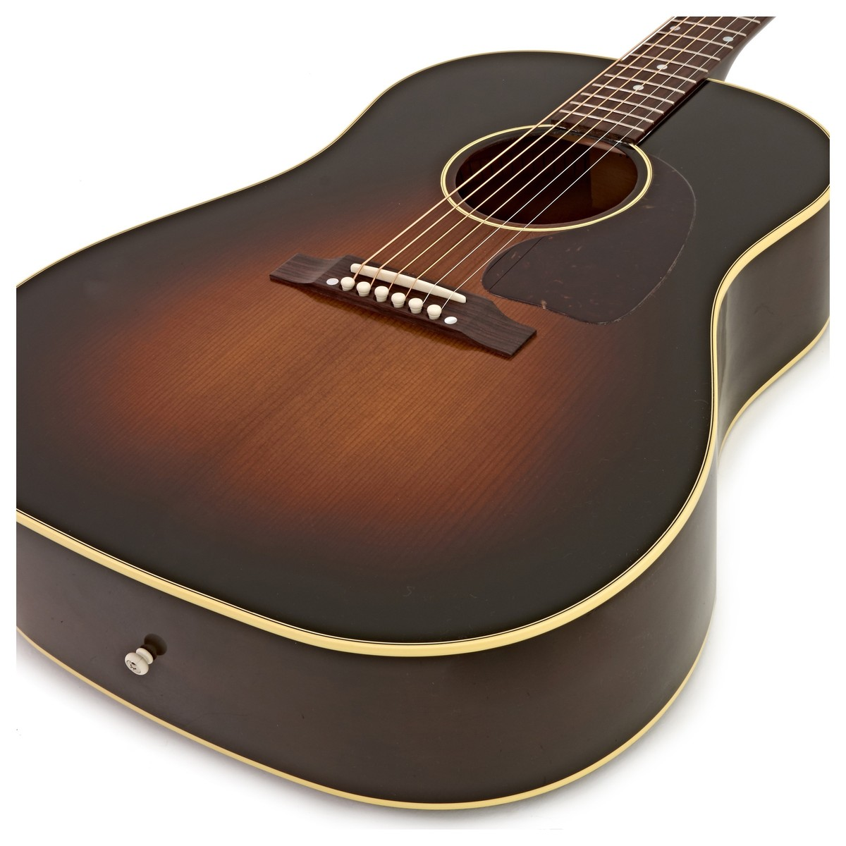 gibson j 45 vintage acoustic guitar vintage sunburst 2017 at. Black Bedroom Furniture Sets. Home Design Ideas
