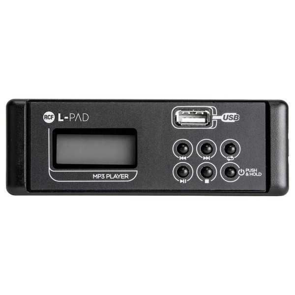RCF Audio LPAD MP3 Player Card