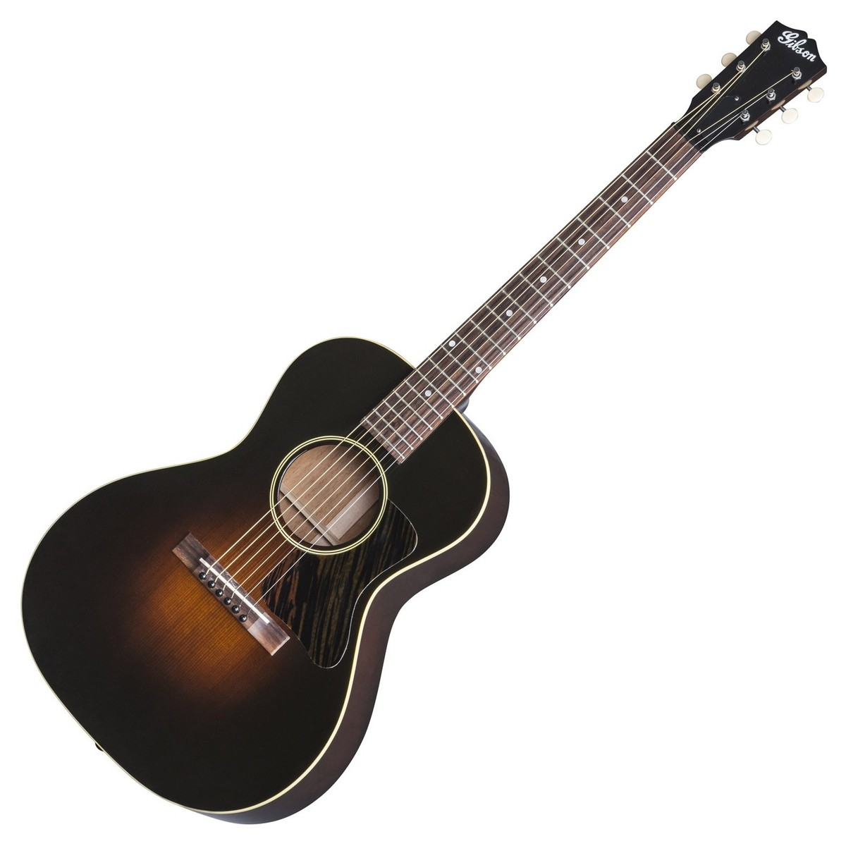 gibson l 00 vintage 2017 acoustic guitar vintage sunburst at. Black Bedroom Furniture Sets. Home Design Ideas