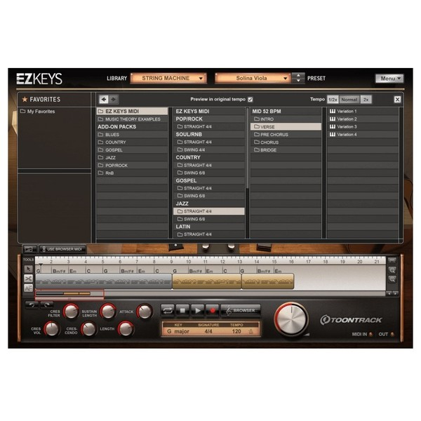 Toontrack EZkeys String Machines