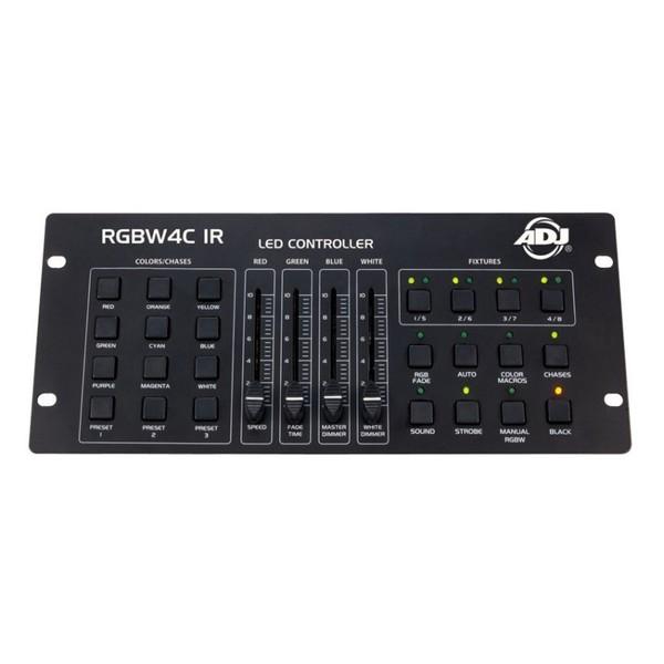 ADJ RGBW4C IR - front panel