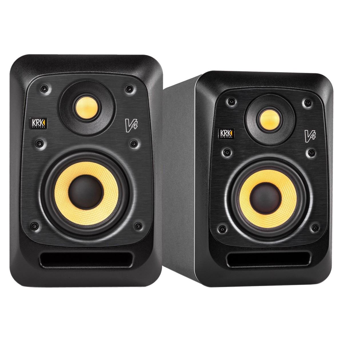 krk v4s4 studio monitor pair at gear4music. Black Bedroom Furniture Sets. Home Design Ideas