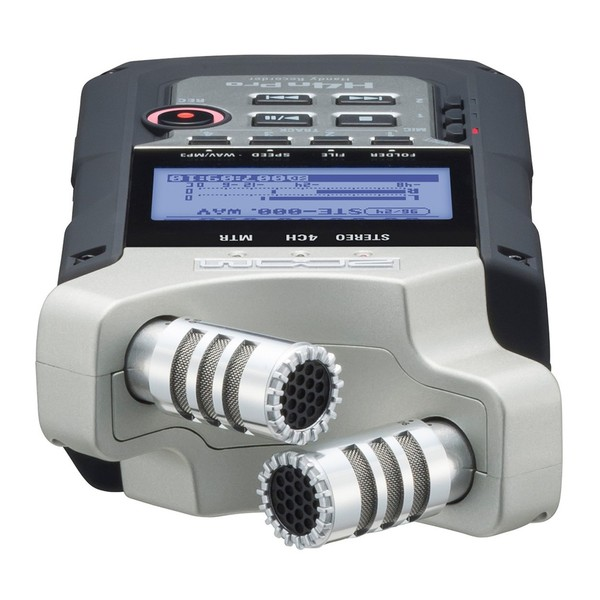 Zoom H4N Pro Handy Recorder with Accessory Pack - Top Flat