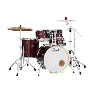 Pearl Decade Maple Crimson Galaxy Fade