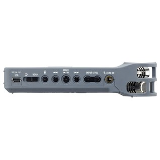 Zoom H1 Recorder, Matte Grey - Side
