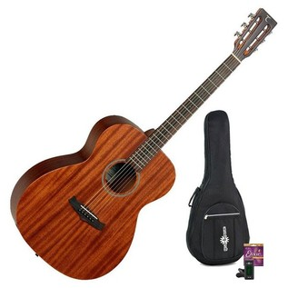 Tanglewood TW130 SM Acoustic Guitar, Natural Satin + Accessory Pack