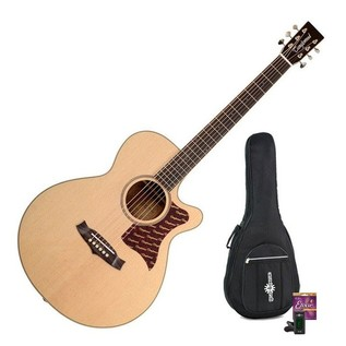 Tanglewood TW45 EGE Elegance Electro-Acoustic Guitar + Accessory Pack