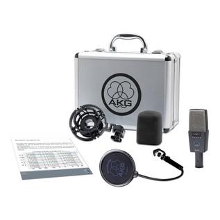 AKG C414-XLS Condenser Microphone - Acessories