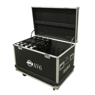 ADJ AV6FC 8pcs Flight Case