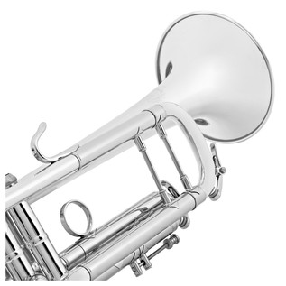 B&S Challenger 1 Trumpet, Silver Plated