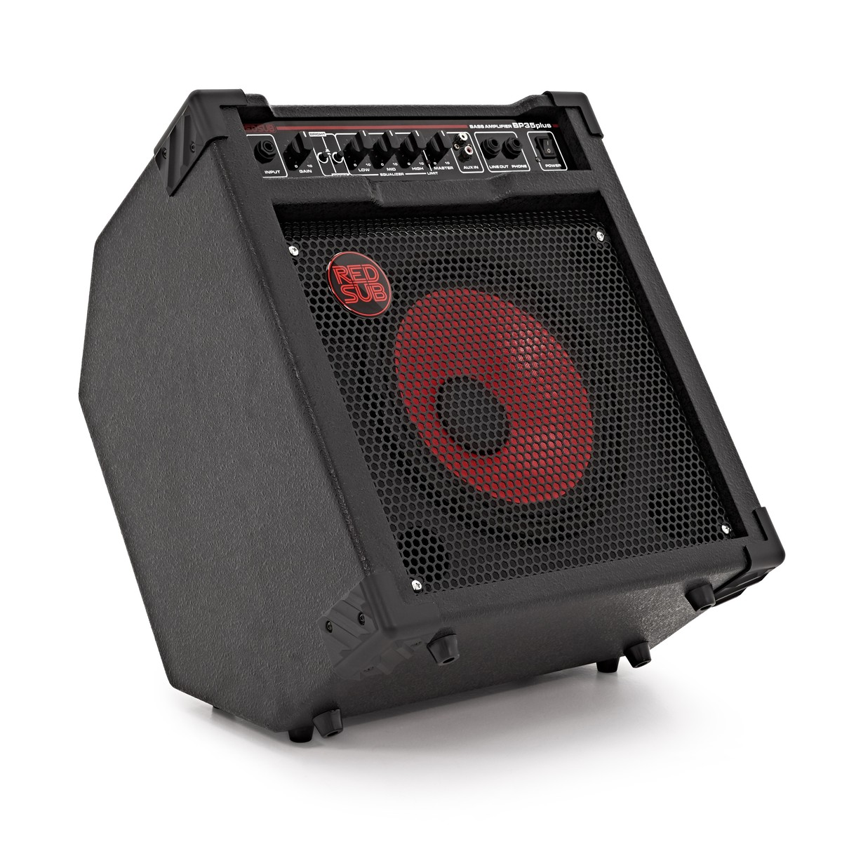 RedSub BP35plus 35W Bass Guitar Amplifier - Box Opened