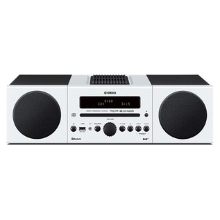 Yamaha MCRB043DWHUK Desktop Micro Hi-Fi System with Bluetooth