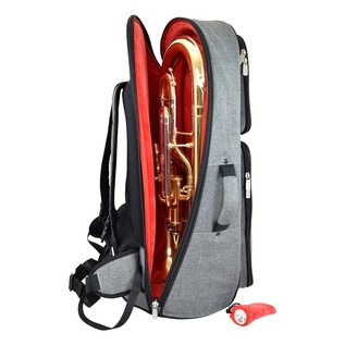 Tom and Will 26EU Euphonium Gig Bag, Black and Grey
