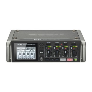 Zoom F4 MultiTrack Field Recorder with Protective Case - Recorder Front