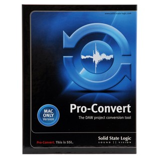 SSL ProConvert Mac Software - Front