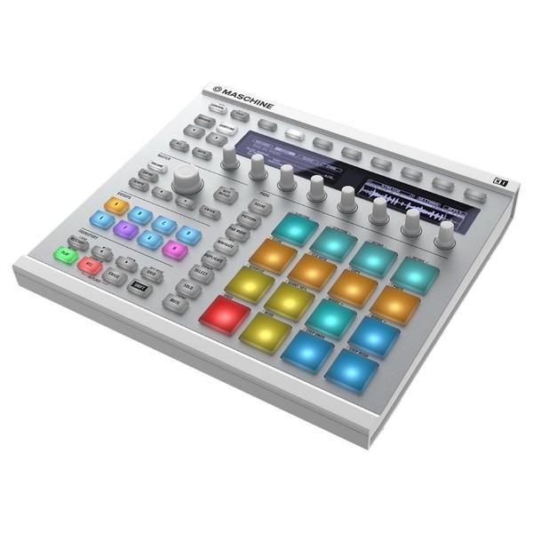 Native Instruments Maschine MK2, White - Angled