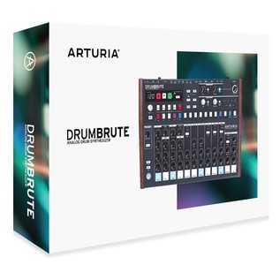 Arturia DrumBrute Drum Machine - Boxed